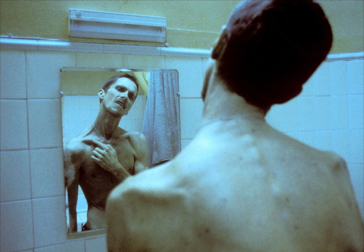 Кристиан Бейл в роли Тревора Резника ©Кадр из фильма «Машинист», kinopoisk.ru