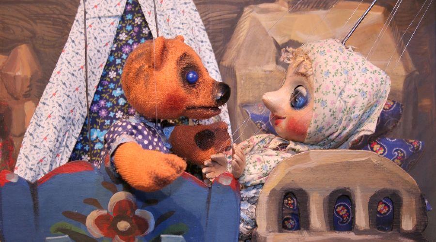 Спектакль «Три  медведя» © Фотография предоставлена пресс-службой Краевого театра кукол