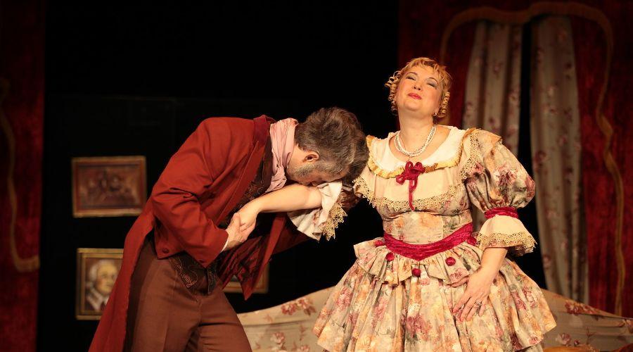 Кадр из спектакля «Женитьба» © Фото из группы «Театр Драмы» «ВКонтакте» vk.com/dram_teatr