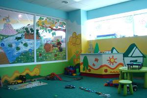 """Детская комната в ТЦ """"Сити Центр"""" """"Прыг-скок городок"""" © Фото Юга.ру"""