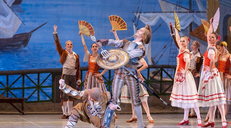 Балет «Дон Кихот» © Фото Татьяны Зубковой
