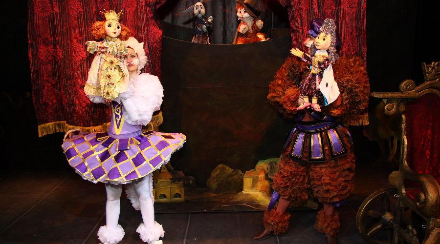 Кот в сапогах © Фотография предоставлена пресс-службой Краевого театра кукол