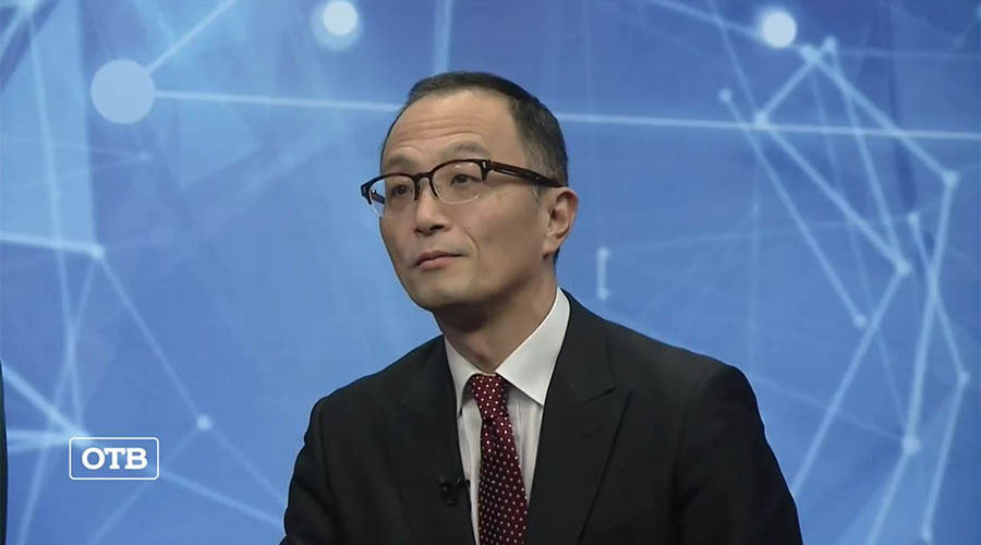 Такахаси Масакадзу © Кадр из видео канала «ОТВ Екатеринбург» на youtube.com, youtube.com/obltv