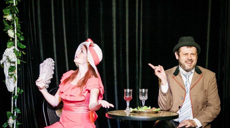 Сцена из спектакля «Сто лет мы так не отдыхали» © Фото Татьяны Зубковой