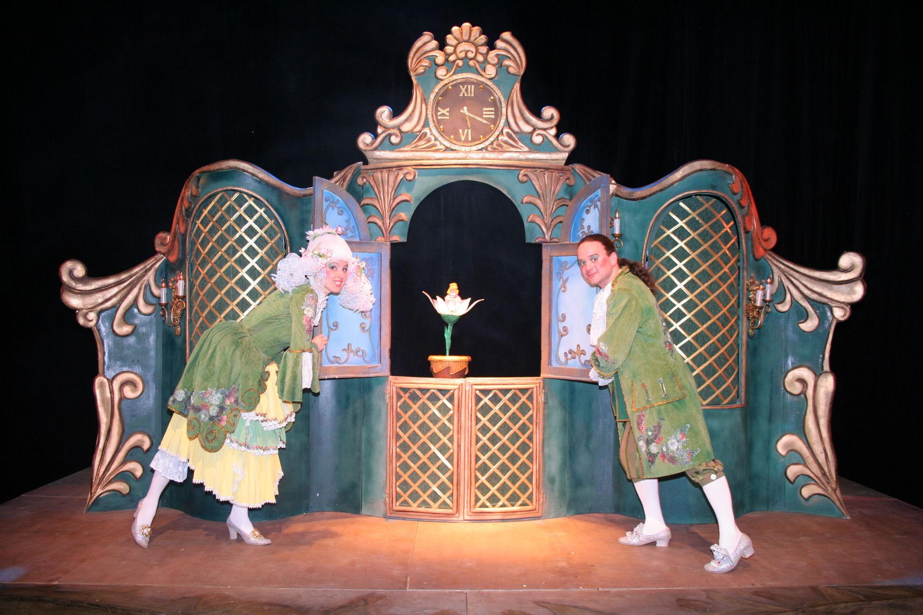 Дюймовочка ©Фотография предоставлена пресс-службой Краевого театра кукол