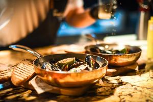 Ресторан «Голый повар» на улице Дальней ©Фото Елены Синеок, Юга.ру