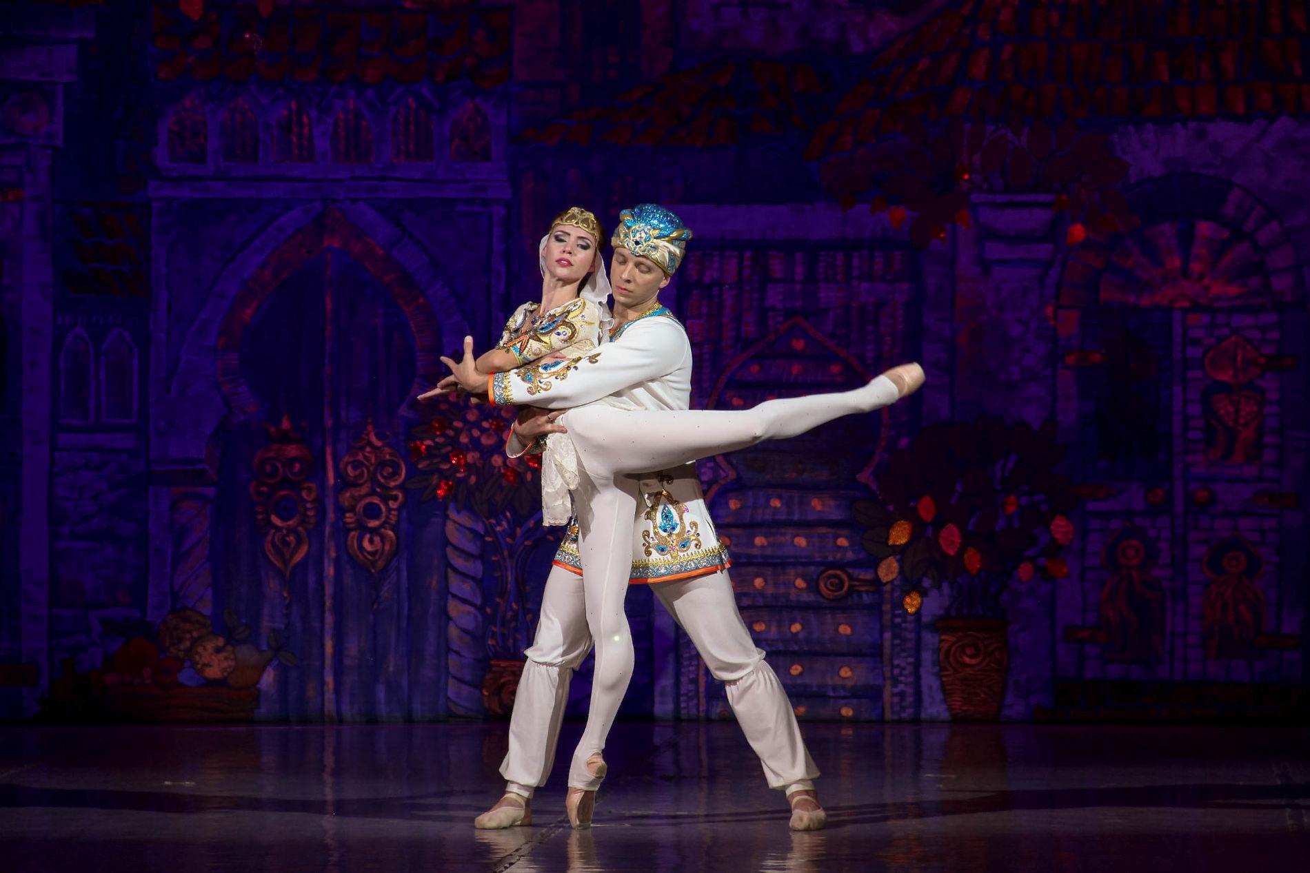 Балет «Али-Баба и сорок разбойников» ©Фотография предоставлена пресс-службой краснодарской филармонии