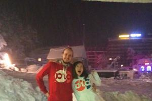 Денис Хрунин и Анна Хлыстова ©Фотография предоставлена Денисом Хруниным