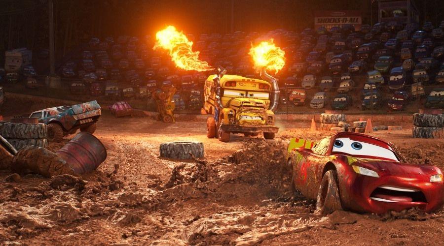 Кадр из фильма «Тачки 3» © Фото с сайта kinopoisk.ru