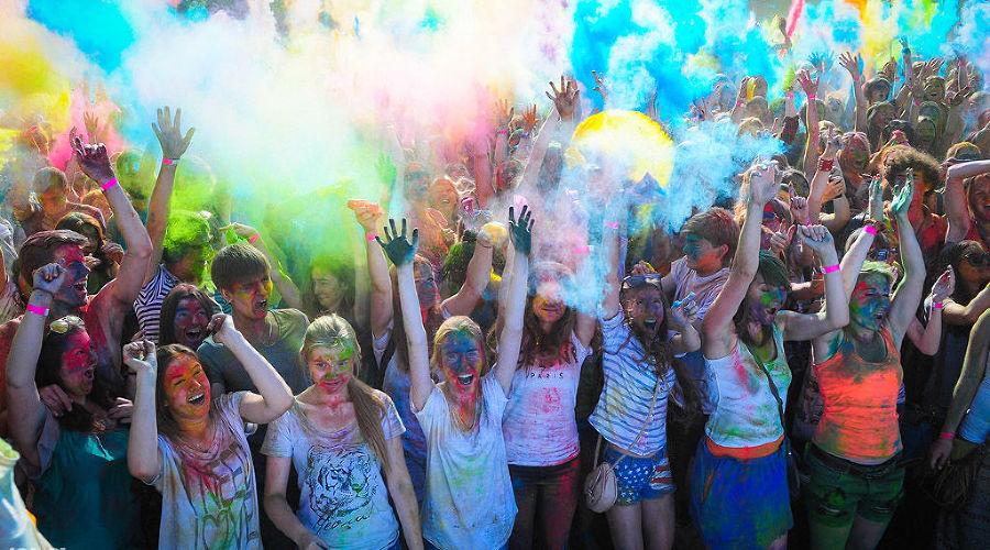 Фестиваль красок © Фото Елены Синеок, Юга.ру