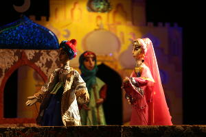 Спектакль «Волшебная лампа Аладдина» © Фото пресс-службы КМТО «Премьера»