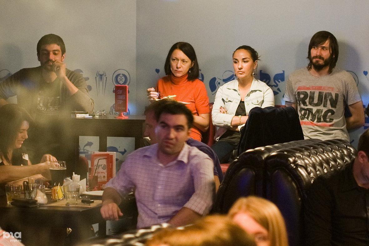 Дискуссия о ресторанной критике в Краснодаре ©Фото Михаила Ступина, Юга.ру