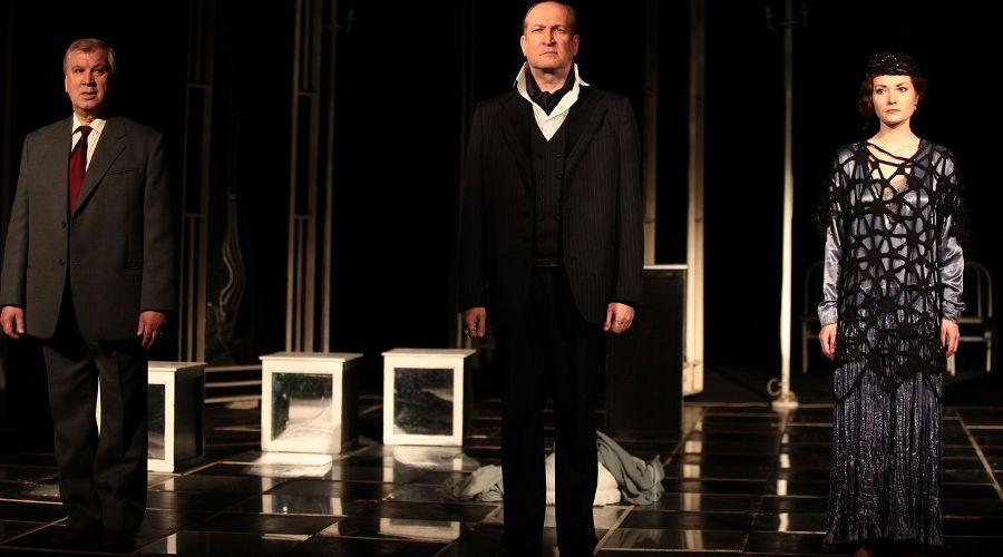 Кадр из спектакля «Евангелие от Воланда» © Фото из группы «Театр Драмы» «ВКонтакте» vk.com/dram_teatr