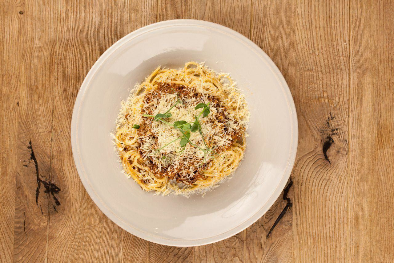 Паста с итальянским мясным соусом болоньезе ©Фотография предоставлена заведением