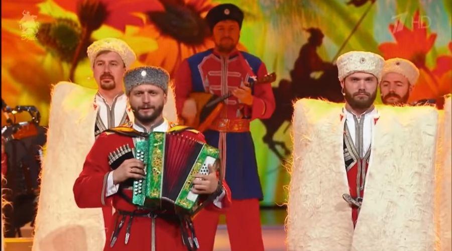 Кубанский казачий хор © Скриншот видео с сайта youtube.com, Кубанский казачий хор - Когда мы были на войне / When we were at war (FullHD)