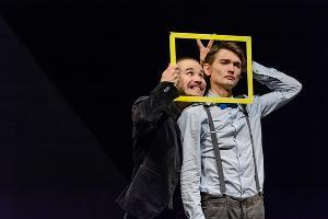 Кадр из спектакля «Затворник и Шестипалый» © Фото Юлии Сафоновой