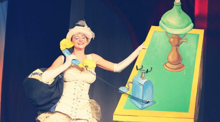 Кадр из спектакля «Неуловимый Фунтик» © Фото из группы «Театр Драмы» во «ВКонтакте», vk.com/dram_teatr