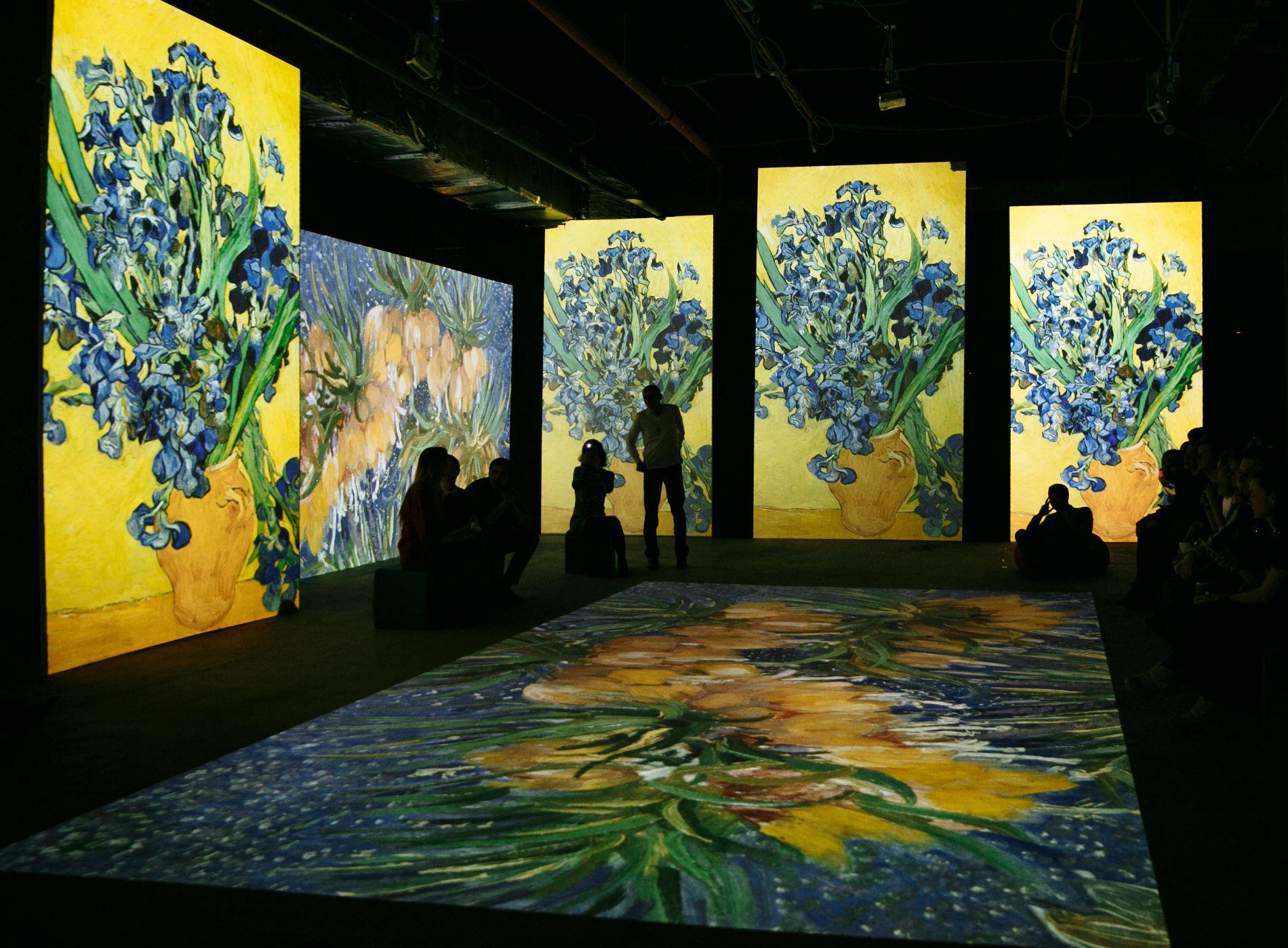 Мультимедийный проект «Винсент Ван Гог: оживающие полотна»