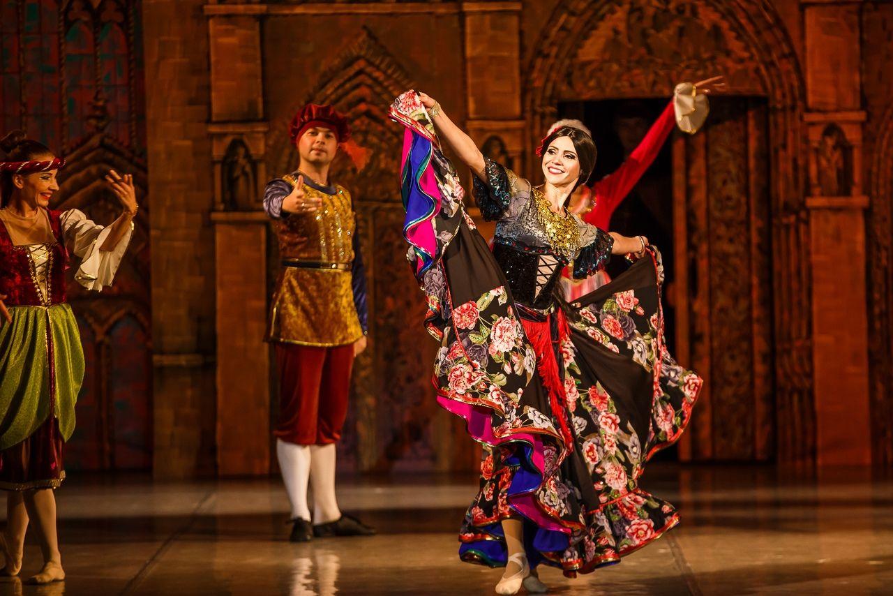 Балет «Эсмеральда» ©Фотография предоставлена пресс-службой Краснодарской филармонии